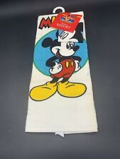 Mickey Mouse Bath Set 2 pc Towel Wash Cloth