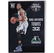 2015-16 Panini Totally Certified #168 Rookies Karl Anthony Towns