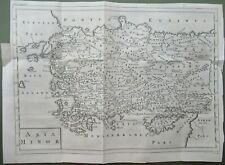 Turkey Antique Map Asia Minor 1747
