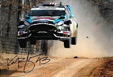 Ken Block SIGNED,12x8  Hoonigan Racing RS Ford Fiesta ST , Rally Amercia  2014