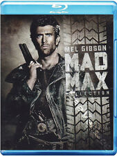 Mad Max Collection NEW Classic Blu-Ray 3-Disc Set George Miller Mel Gibson