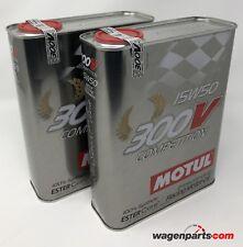 Aceite Motor MOTUL 300V Competition 15W-50, 4 Litros  (especial carreras)