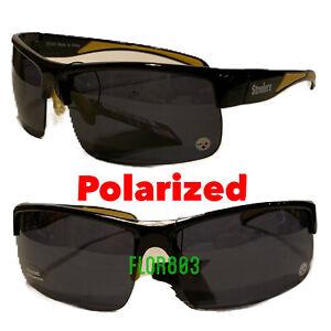 Pittsburgh Steelers NFL Polarized Wrap Sunglasses UV 400