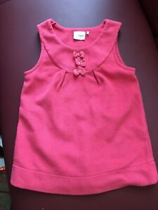 Lovely Pink Pinny Dress Girls 2-3y Next