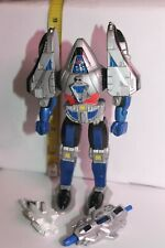 "Power Rangers Time Force  Time Flyer Blue Mode Megazord 6"" HTF complete"
