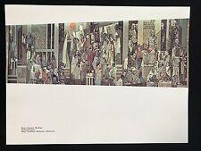 Richard Haines Lithograph MID CENTURY MODERN Art  8.5x11.5 1961 Mural Sixties