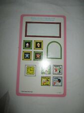 Vintage Fisher Price Doll House Furniture Accessories Decorative Wall Cutouts A