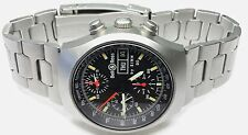 BELL & ROSS SPACE 2 By SINN 40mm MENS SWISS AUTOMATIC SS CHRONO DAY/DATE WATCH