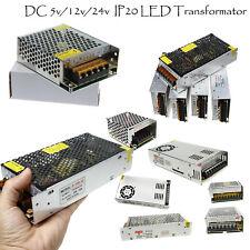 LED Netzteil Trafo DC 5V 12V 24V  Schaltnetzteil Adapter Power Supply LED Strip