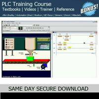 Allen Bradley PLC Training Course with SIMULATION Trainer Software - FAST ACCESS