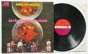 IRON BUTTERFLY. IN-A-GADDA-DA-VIDA. ORIGINAL UK VINYL LP. 1968. ATLANTIC 588 1