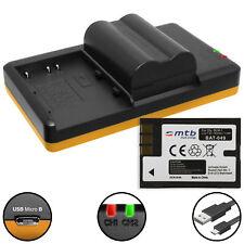 2 Akkus + Dual-Ladegerät BLM-1 für Olympus Digital E-330, E-500, E-510, E-520