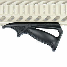 Noir coudé hand guard foregrip fore grip pour picatinny cyma quad rail neuf