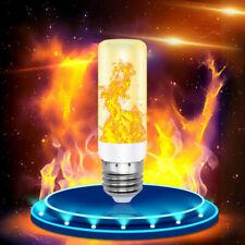 4Modes US E27 LED Burn Light Flicker Flame Lamp Bulb Fire Effect Christmas Decor