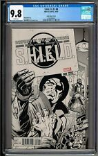 S.H.I.E.L.D. #9 (2015) 1:75 Kirby Sketch Variant CGC 9.8 White!! RARE!