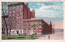 Carte postale ancienne ETATS-UNIS USA NEW YORK hotel holley washington square