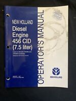 New Holland Operator's Manual Diesel Engine 456 Cid *1043