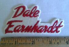 Vintage Dale Earnhardt Sr Embroidered Patch  Nascar Racing