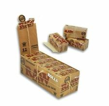 2 Packs x RAW King Size Natural Smoking Rolling Paper Roll 3 Meter