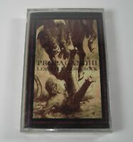 Propagandhi Less Talk More Rock Cassette Tape Sealed Rare Fat Wreck Chords READ