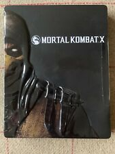 Mortal Kombat X Xbox One Limited Steelbook Special Edition (2) **FREE UK POST**