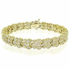 Gold Tennis Fine Bracelets