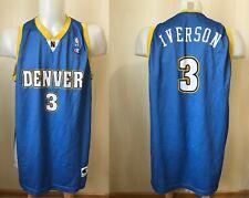 Denver Nuggets #3 Allen Iverson Champion Sz 3XL basketball jersey shirt maillot