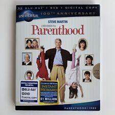 PARENTHOOD Blu-ray UNIVERSAL 100th ANNIVERSARY SLIPCOVER Rare OOP Steve Martin
