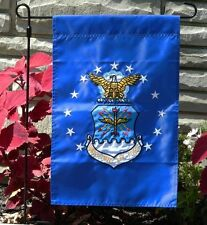 12x18 United States Air Force Embroidered Garden Flag Pole Sleeve FAST USA SHIP