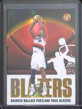 2003-04 Topps Pristine Gold Diecut Refractor #30 Rasheed Wallace No 4 of 99