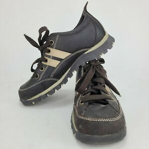 Skechers 99376 Womens Black Platform Leather Shoes Oxfords Lace Up US 7 EUR 37