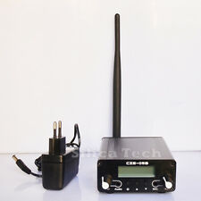 CZE-05B 0.1/0.5W FM transmitter stereo pll radio broadcast Rubber Ant + PS Kit