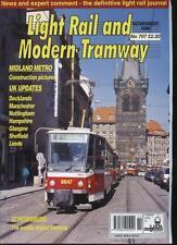LIGHT RAIL AND MODERN TRAMWAY MAGAZINE - November 1996 - Vol. 59 - No. 707