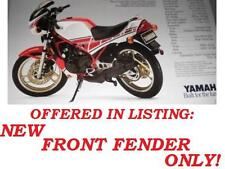 1985 YAMAHA RZ350 RED FRONT FENDER KENNY ROBERTS SPECIAL EDITION **NIB*