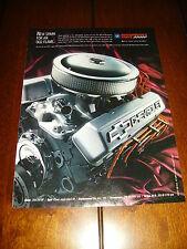 CHEVROLET 350 CRATE ENGINE 350/290  ***ORIGINAL 2007  AD***