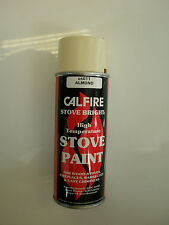 Calfire Heat Proof Stove Paint for Wood Burning Stoves - ALMOND