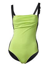 schwarz grün Bauchweg Badeanzug Gr.36 D  Shape mit Power-Mesh-System NP 70€