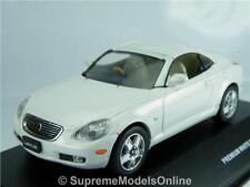 LEXUS SC430 2005 CAR MODEL 1/43RD SIZE WHITE PEARL 2 DOOR SPORTS TYPE Y0675J^*^