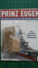 Modellbau Prinz Eugen Bausatz Hachette 1 95 Bauteile +