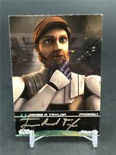 2009 STAR WARS FAN DAYS III JAMES A TAYLOR AUTO PROMO 1 OBI WAN AUTOGRAPH