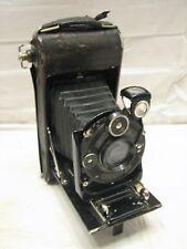 Zeiss Ikon Antique Folding Camera Preminar Lens Compur Shutter Film