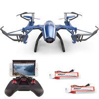 UDI U28W WiFi FPV 2.4G 4CH RTF headless RC Quadcopter Drone with 720P HD Camera