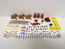 Painted Plastic Indian Timpo Toy Soldiers