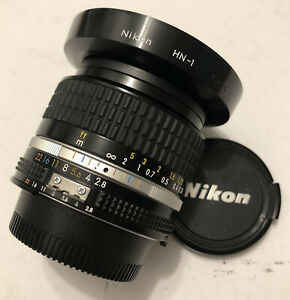 Nikon Nikkor 24mm f2.8 AIS 94% condition fully tested