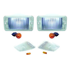 Jeep Wrangler TJ Clear Parking & Sidemarker Lamp Kit 1997-2006  RT28015