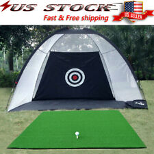 2M Foldable Golf Practice Driving Chipping Hitting Net System Aid Training USA