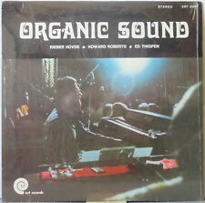 RIEBER HOVDE / HOWARD ROBERTS / ED THIGPEN Organic Sound LP Jazz private, Shrink