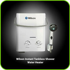 Camping Shower Hot Water Heater Tankless Portable Propane LP Gas