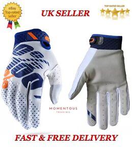 New 100% Cycling Motorcycle Riding Racing Motorcross Bike Mountain Gloves