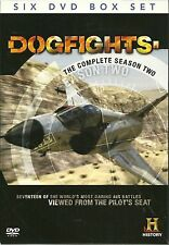 DOGFIGHTS THE COMPLETE SEASON TWO (2) - HISTORY CHANNEL - 6 DVD - COMBAT FLYING